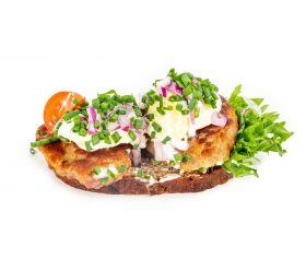Frikadelle m.kartoffelsalat